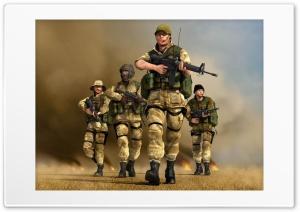 Soldiers Ultra HD Wallpaper for 4K UHD Widescreen desktop, tablet & smartphone