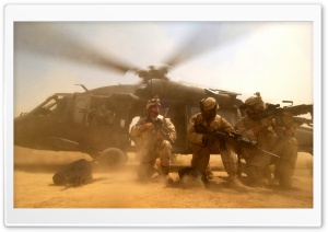 Soldiers At War HD Wide Wallpaper for Widescreen