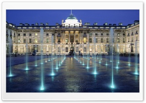 Somerset House, London, England HD Wide Wallpaper for 4K UHD Widescreen desktop & smartphone