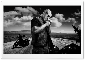 Sons Of Anarchy Biker HD Wide Wallpaper for Widescreen