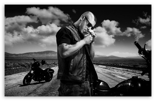Sons Of Anarchy Biker HD wallpaper for Wide 16:10 5:3 Widescreen WHXGA WQXGA WUXGA WXGA WGA ; HD 16:9 High Definition WQHD QWXGA 1080p 900p 720p QHD nHD ; UHD 16:9 WQHD QWXGA 1080p 900p 720p QHD nHD ; Standard 4:3 5:4 3:2 Fullscreen UXGA XGA SVGA QSXGA SXGA DVGA HVGA HQVGA devices ( Apple PowerBook G4 iPhone 4 3G 3GS iPod Touch ) ; Tablet 1:1 ; iPad 1/2/Mini ; Mobile 4:3 5:3 3:2 5:4 - UXGA XGA SVGA WGA DVGA HVGA HQVGA devices ( Apple PowerBook G4 iPhone 4 3G 3GS iPod Touch ) QSXGA SXGA ;