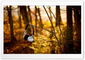 Sony Headphones HD Wide Wallpaper for Widescreen