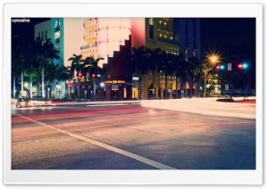 South Beach HD Wide Wallpaper for Widescreen