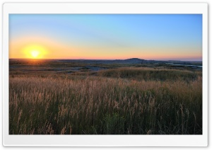South Dakota Sunrise HD Wide Wallpaper for 4K UHD Widescreen desktop & smartphone