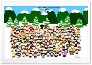 South Park HD Wide Wallpaper for Widescreen