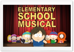 South Park - Elementary School Musical HD Wide Wallpaper for 4K UHD Widescreen desktop & smartphone