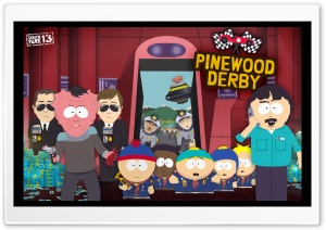 South Park - Pinewood Derby HD Wide Wallpaper for Widescreen