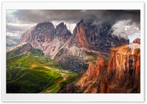 South Tyrol Dolomites Italy Landscape HD Wide Wallpaper for Widescreen