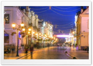 Soviet street, Grodno HD Wide Wallpaper for Widescreen
