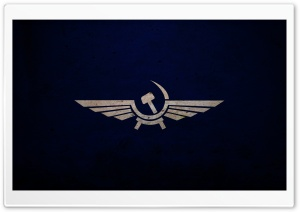 Soviet Union Symbol HD Wide Wallpaper for Widescreen