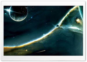 Space 10 HD Wide Wallpaper for 4K UHD Widescreen desktop & smartphone
