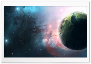 Space Art HD Wide Wallpaper for Widescreen