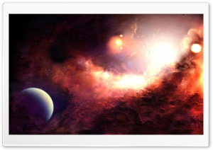 Space Artwork HD Wide Wallpaper for Widescreen