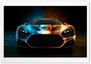 Space Car HD Wide Wallpaper for Widescreen