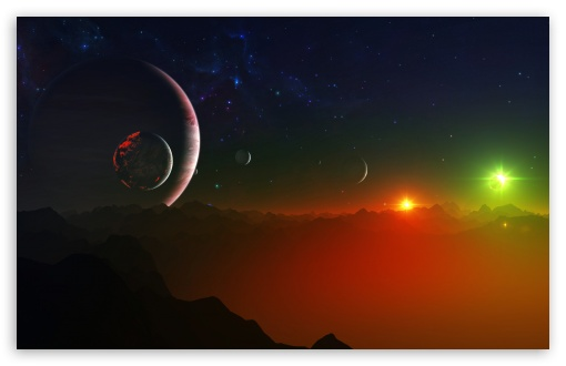Space Fantasy Landscape HD wallpaper for Wide 16:10 5:3 Widescreen WHXGA WQXGA WUXGA WXGA WGA ; HD 16:9 High Definition WQHD QWXGA 1080p 900p 720p QHD nHD ; UHD 16:9 WQHD QWXGA 1080p 900p 720p QHD nHD ; Standard 3:2 Fullscreen DVGA HVGA HQVGA devices ( Apple PowerBook G4 iPhone 4 3G 3GS iPod Touch ) ; Mobile 5:3 3:2 16:9 - WGA DVGA HVGA HQVGA devices ( Apple PowerBook G4 iPhone 4 3G 3GS iPod Touch ) WQHD QWXGA 1080p 900p 720p QHD nHD ; Dual 4:3 5:4 UXGA XGA SVGA QSXGA SXGA ;