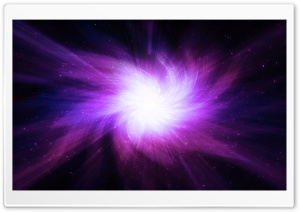 Space Light Bluish HD Wide Wallpaper for Widescreen