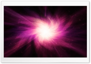 Space Light Pink HD Wide Wallpaper for Widescreen