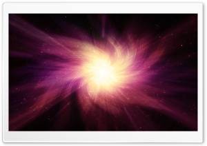 Space Light Reddish HD Wide Wallpaper for Widescreen