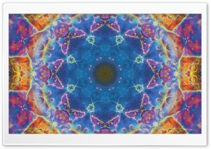 Space Mandala No2 HD Wide Wallpaper for Widescreen