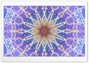 Space Mandala No3 HD Wide Wallpaper for Widescreen