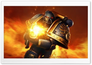 Space Marines Warhammer 40,000 HD Wide Wallpaper for Widescreen