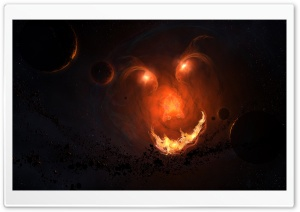 Space Monster HD Wide Wallpaper for Widescreen