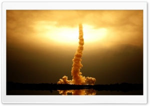 Space Shuttle Launch HD Wide Wallpaper for Widescreen