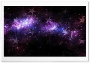 Space Stars HD Wide Wallpaper for Widescreen