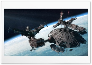 Space Station HD Wide Wallpaper for Widescreen