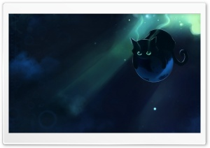 Spacecat HD Wide Wallpaper for Widescreen