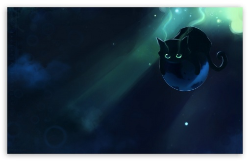 Spacecat HD wallpaper for Wide 16:10 5:3 Widescreen WHXGA WQXGA WUXGA WXGA WGA ; HD 16:9 High Definition WQHD QWXGA 1080p 900p 720p QHD nHD ; Mobile 5:3 16:9 - WGA WQHD QWXGA 1080p 900p 720p QHD nHD ;