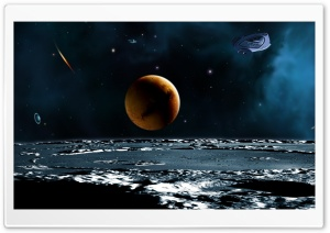 Spaceship HD Wide Wallpaper for Widescreen