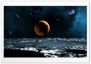 Spaceship Ultra HD Wallpaper for 4K UHD Widescreen desktop, tablet & smartphone