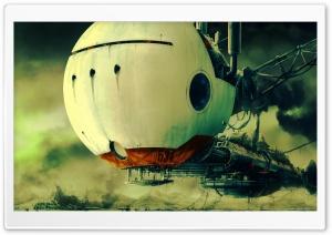 Spaceship Art Ultra HD Wallpaper for 4K UHD Widescreen desktop, tablet & smartphone