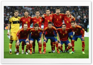 Spain National Team HD Wide Wallpaper for Widescreen