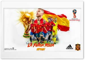 SPAIN WORLD CUP 2018 HD Wide Wallpaper for 4K UHD Widescreen desktop & smartphone