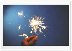 Sparkler Ultra HD Wallpaper for 4K UHD Widescreen desktop, tablet & smartphone