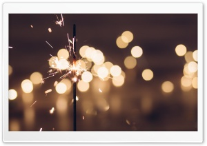 Sparkler Aesthetic Ultra HD Wallpaper for 4K UHD Widescreen desktop, tablet & smartphone