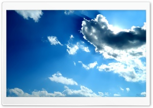 Sparse Clouds HD Wide Wallpaper for Widescreen