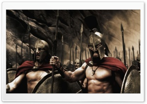 Spartans 300 Movie HD Wide Wallpaper for Widescreen