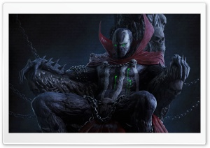 Spawn Reboot HD Wide Wallpaper for Widescreen