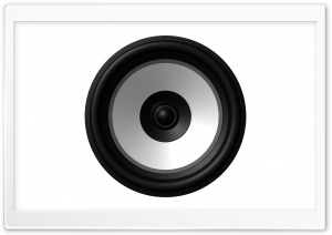 Speaker HD Wide Wallpaper for Widescreen