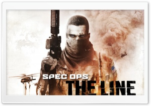Spec Ops - The Line HD Wide Wallpaper for 4K UHD Widescreen desktop & smartphone