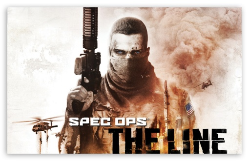 Spec Ops - The Line HD wallpaper for Wide 16:10 5:3 Widescreen WHXGA WQXGA WUXGA WXGA WGA ; HD 16:9 High Definition WQHD QWXGA 1080p 900p 720p QHD nHD ; Mobile 5:3 16:9 - WGA WQHD QWXGA 1080p 900p 720p QHD nHD ;
