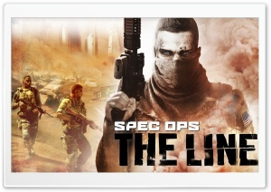 Spec Ops: The Line HD Wide Wallpaper for 4K UHD Widescreen desktop & smartphone