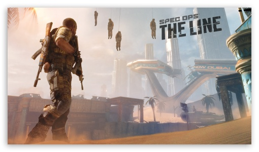 Spec Ops: The Line Premium Edition HD wallpaper for HD 16:9 High Definition WQHD QWXGA 1080p 900p 720p QHD nHD ; Tablet 1:1 ; iPad 1/2/Mini ; Mobile 4:3 5:3 3:2 16:9 - UXGA XGA SVGA WGA DVGA HVGA HQVGA devices ( Apple PowerBook G4 iPhone 4 3G 3GS iPod Touch ) WQHD QWXGA 1080p 900p 720p QHD nHD ;