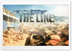 Spec Ops: The Line Premium Edition HD Wide Wallpaper for 4K UHD Widescreen desktop & smartphone