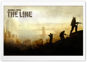 Spec Ops The Line Game HD Wide Wallpaper for 4K UHD Widescreen desktop & smartphone