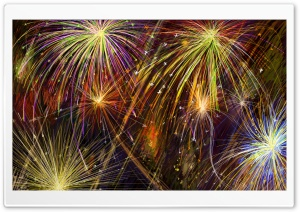 Special Fireworks Display, Independence Day HD Wide Wallpaper for Widescreen