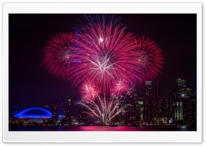 Spectacular Fireworks Ultra HD Wallpaper for 4K UHD Widescreen desktop, tablet & smartphone